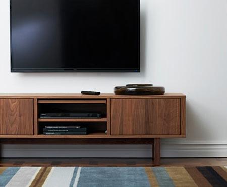 مدل ها و انواع میز تلویزیون مدرن