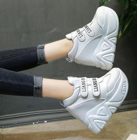 کفش اسپرت دخترانه,کفش اسپرت لژ دار زنانه