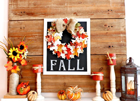 تزیین با برگ های پاییزی, پیشنهادهایی برای چیدمان پاییزی
