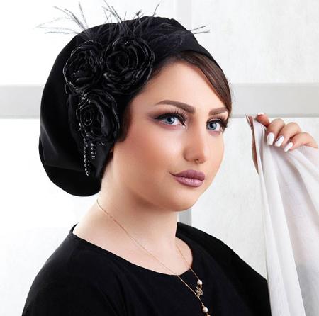 ساده ترین مدل کلاه حجاب, مدل کلاه حجاب عروس