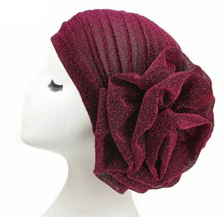 کلاه حجاب مناسب عروس, مدل توربان مجلسی
