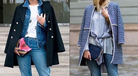 نحوه ست کردن لباس جین, روش ست کردن لباس جین