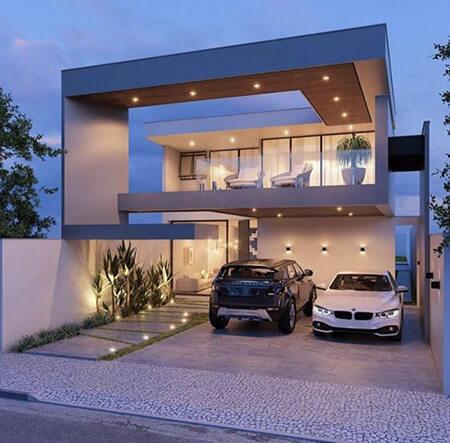 طراحی شیک ترین نماهای ساختمان ویلا, ایده هایی برای نماهای ساختمان, انواع طراحی های نمای ساختمان ویلا