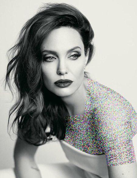 جدیدترین عکس های آنجلینا جولی روی مجله Instyle