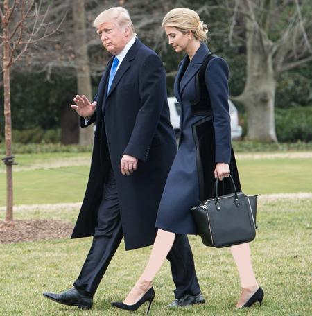 مدل جدید و شیک لباس های ایوانکا ترامپ|لباس و کیف و کفش