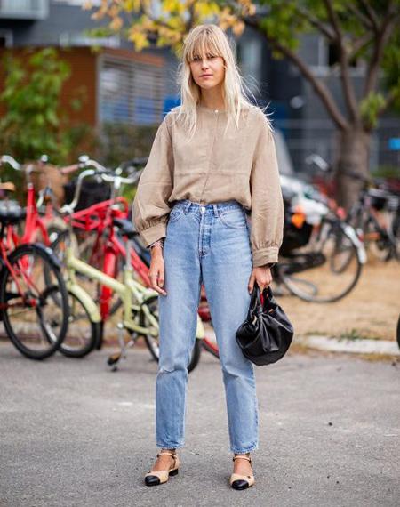 مدل لباس جین, لباس های جین در پاییز