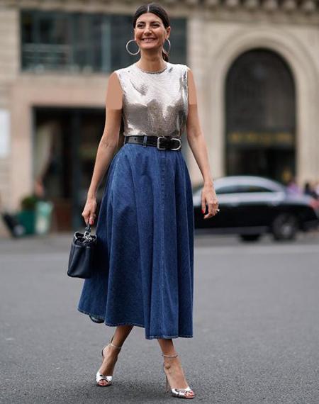 انواع مدهای جین پاییزی,جدیدترین مدل های لباس جین