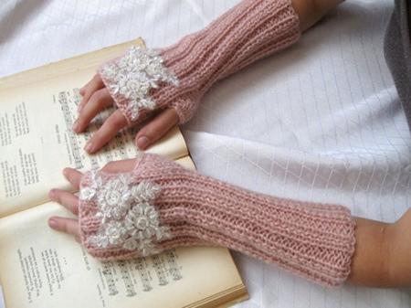 دستکش بافتنی, مدل دستکش بافتنی