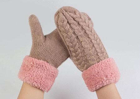 دستکش های زمستانی,دستکش بافتنی