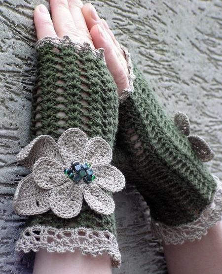 مدل های دستکش بافتنی, جدیدترین دستکش بافتنی