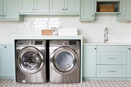 اتاق لباسشویی, خصوصیات اتاق لباسشویی, دکوراسیون و چیدمان اتاق لباسشویی