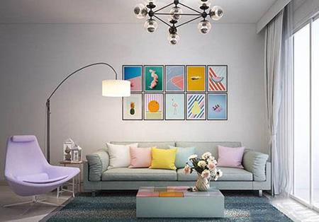 ایده هایی برای چیدن قاب عکس روی دیوار,ایده هایی برای نصب قاب روی دیوار