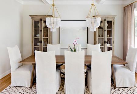 انتخاب روشنایی غذاخوری,نکاتی برای نورپردازی اتاق غذاخوری