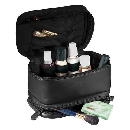 کیف لوازم آرایش چرمی, کیف لوازم آرایش پارچه ای
