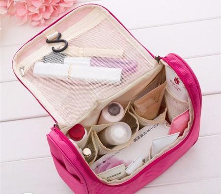 کیف لوازم آرایش پارچه ای,مدل کیف لوازم آرایش