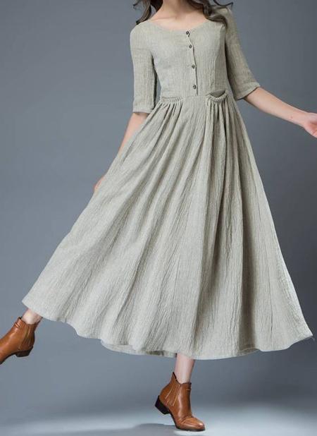 مدل پیراهن بلند, ایده هایی برای پیراهن نخی