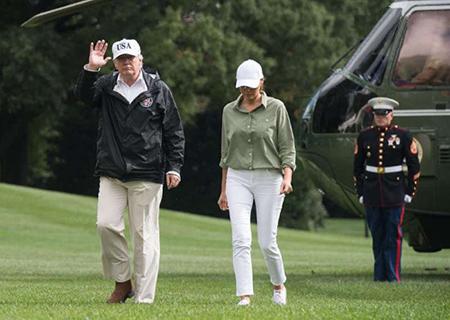 مدل لباس های ملانیا ترامپ, تصاویر لباس های ملانیا ترامپ