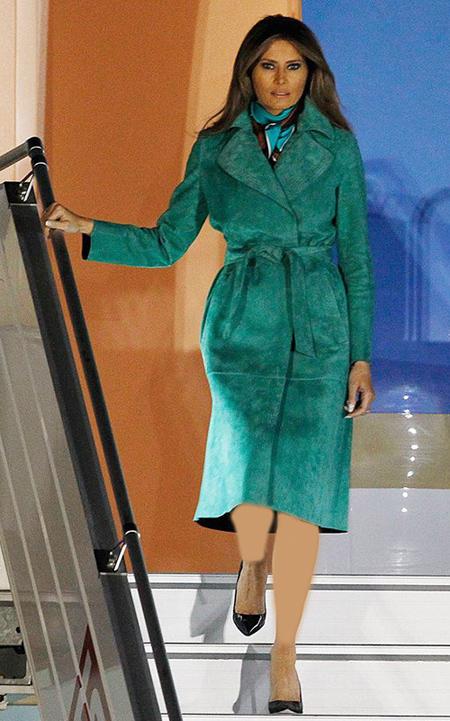 لباس های رسمی ملانیا ترامپ,لباس های شیک ملانیا ترامپ