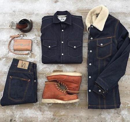 لباس پوشیدن آقایان با بوت, مدل ست های مردانه با بوت
