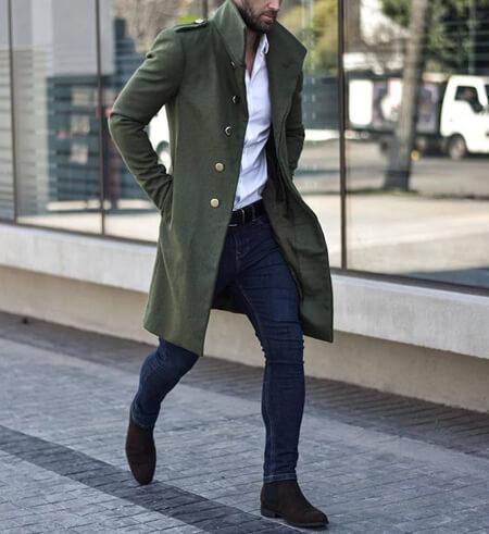 پالتوهای مردانه بلند, انواع پالتوهای بلند مردانه