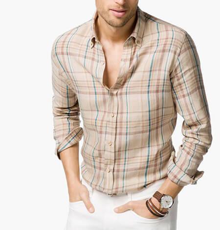 شیک ترین مدل پیراهن چهارخانه مردانه, جدیدترین پیراهن های چهارخانه مردانه, پیراهن چهارخانه مردانه جدید