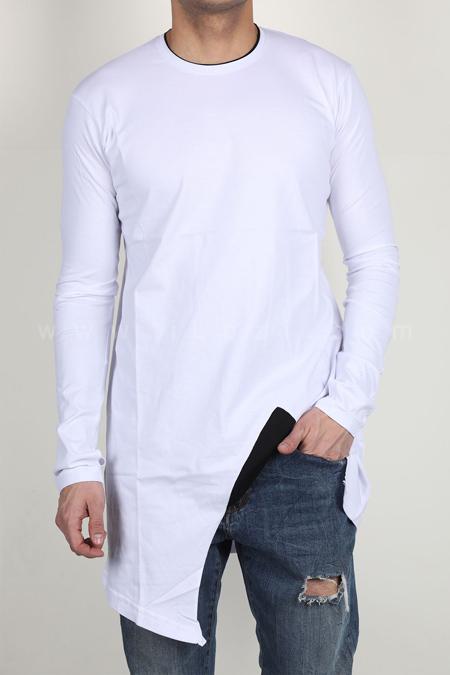مدل تیشرت لانگ آستین بلند, لباس آستین بلند لانگ