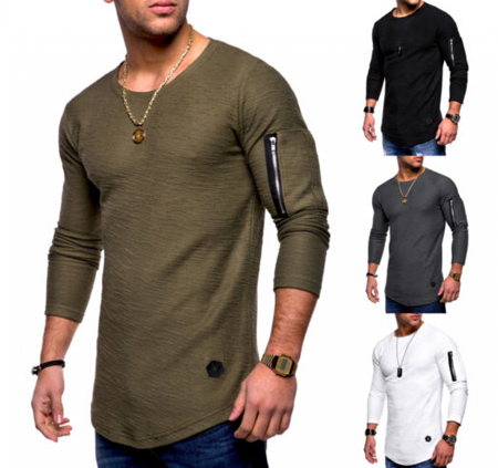 مدل لباس مردانه,مدل تیشرت لانگ مردانه