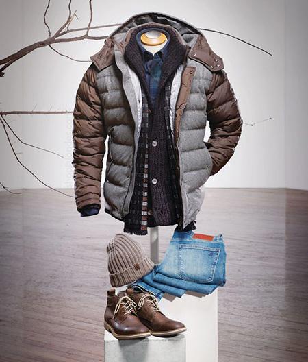 تصاویر ست کردن لباس مردانه با کاپشن, ایده هایی برای ست لباس مردانه با کاپشن