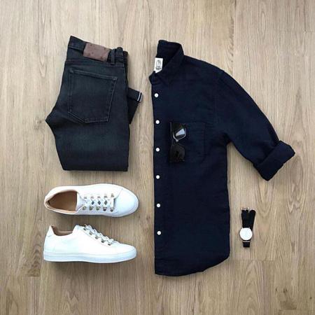 ست های جدید لباس,ست های بهاری مردانه