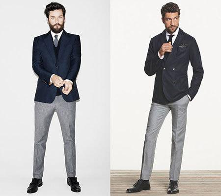 راهنمای ست کردن کت و شلوار برای آقایان,نکاتی برای ست کردن کت و شلوار مردانه