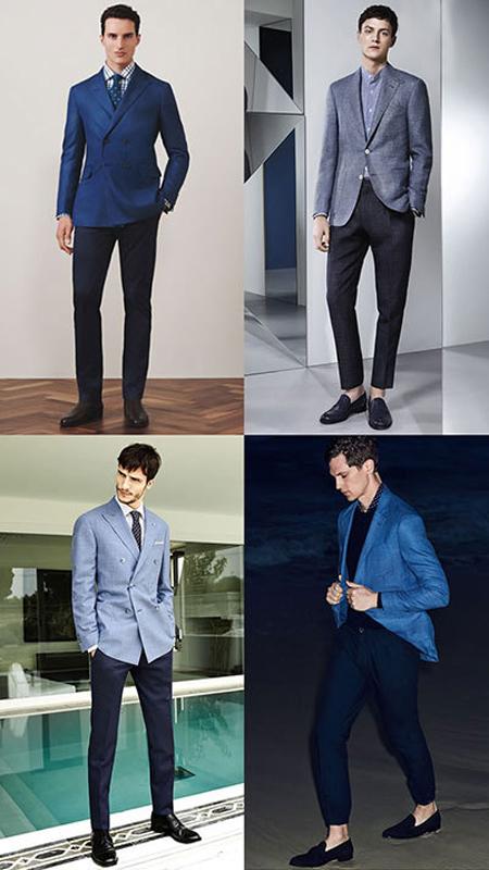 بهترین رنگ های ست کردن کت و شلوار, ست کت و شلوار آقایان