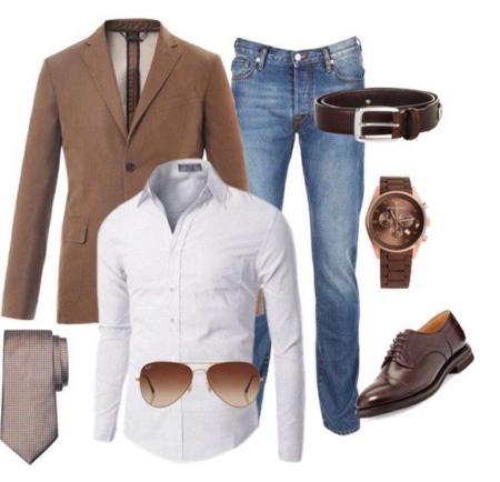 ست لباس مردانه, لباس های مردانه
