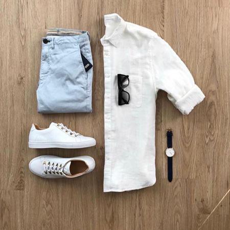 ست لباس مردانه, لباس هاي مردانه