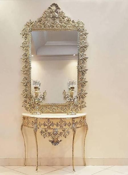 آینه شمعدان, مدل آینه شمعدان