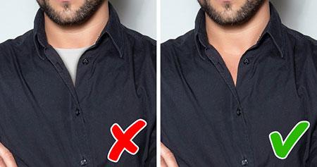 اشتباهاتی در لباس پوشیدن آقایان, نکته هایی برای لباس پوشیدن آقایان