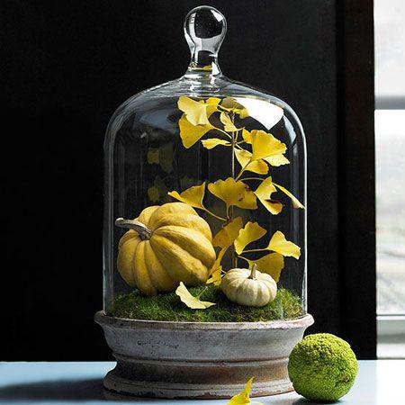 دکوراسیون پاییزی با عناصر طبیعی, تزیین دکور پاییزی