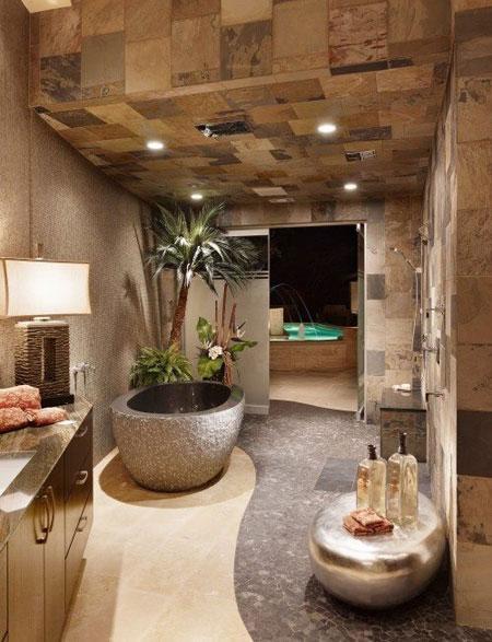 شیک ترین دکوراسیون حمام - سری هفتم