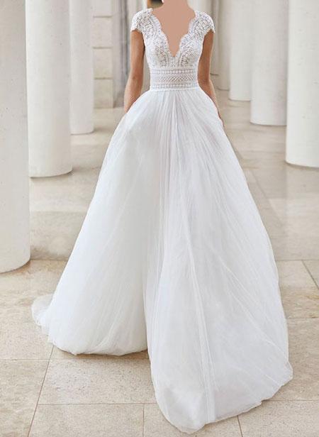 نحوه انتخاب لباس عروس, لباس عروس مناسب