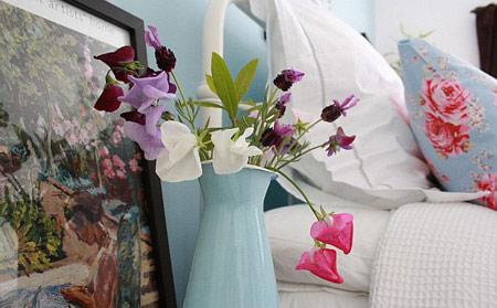 گل آرایی اتاق خواب, دکوراسیون اتاق خواب با گل
