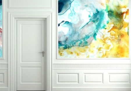 رنگ آمیزی دیوارها, رنگ آمیزی متفاوت دیوارها