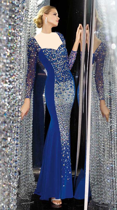 شیک ترین لباس شب,جدیدترین لباس مجلسی