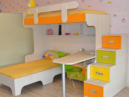 مدل تخت های دو طبقه, دکوراسیون تخت های چند طبقه