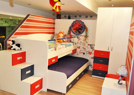 مدل کمد و تخت دو طبقه, مدل های تخت و کمد دوطبقه