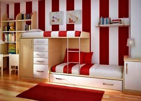 مدل تخت دو طبقه, مدل چوبی های اتاق کودک