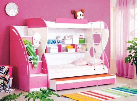 سرویس چوبی اتاق کودک, دکوراسیون اتاق کودک