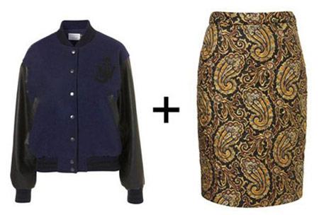 نحوه پوشیدن لباس های قدیمی, پوشیدن لباس قدیمی با مد