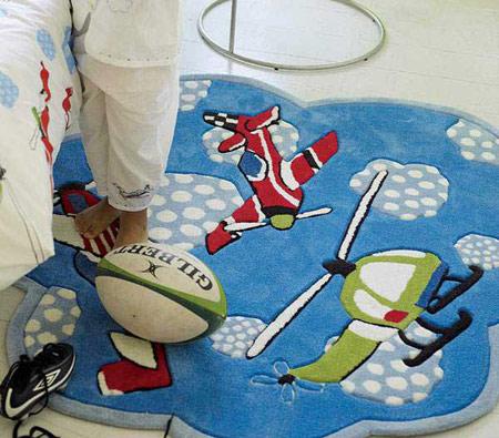 فرش اتاق کودک, مدل فرش کودکانه