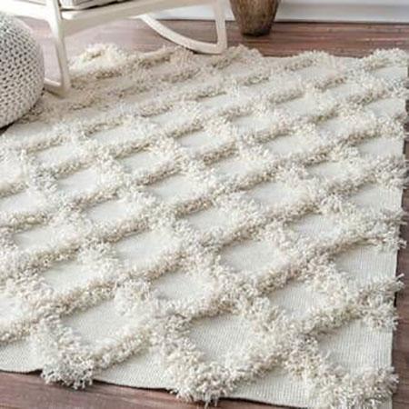 گلیم فرش پرزدار,فرش خزدار