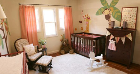 رنگ مناسب اتاق کودک, انتخاب رنگ اتاق کودک
