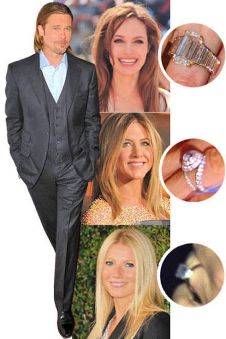 Angelina jolie engagement ring